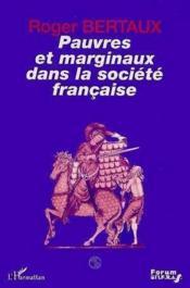 Pauvres et marginaux dans la société française - Couverture - Format classique