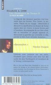 Les chroniques de Tornor t.2 ; la fille du Nord - 4ème de couverture - Format classique
