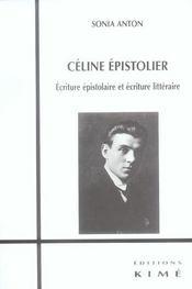 Celine epistolier - Intérieur - Format classique
