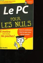 Le Pc Pour Les Nuls - Couverture - Format classique