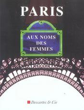 Paris, Aux Noms Des Femmes - Intérieur - Format classique