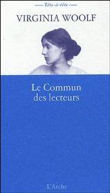 Commun des lecteurs (le) - Couverture - Format classique