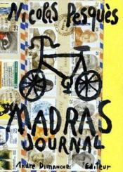 Madras journal - Couverture - Format classique