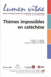 Revue Lumen Vitae - Intérieur - Format classique