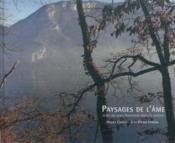 Paysages De L'Ame, Jean-Jacques Rousseau Dans La Nature - Couverture - Format classique