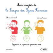 Mon imagier de la langue des signes française - Couverture - Format classique