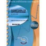 Comptabilité approfondie ; unité d'enseignement 10 du DCG ; cas pratiques ; énoncé (5e édition) - Couverture - Format classique