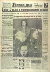 France Soir 7 Eme Edition N°3264 du 25/01/1955 - Couverture - Format classique