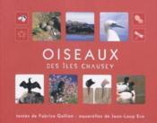 Oiseaux Des Iles Chausey - Couverture - Format classique