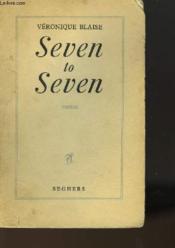 Seven To Seven - Couverture - Format classique