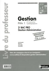 Vente  Gestion 2eme bac pro gestion-administration pole 1 (situations professionnelles) prof 2014  - Sylvie Chamillard