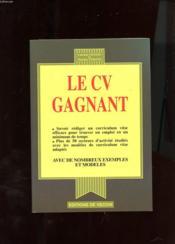 Le Cv Gagnant - Couverture - Format classique