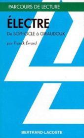 Électre de Sophocle à Giraudoux - Couverture - Format classique