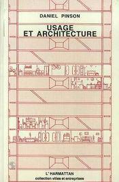 Usage et architecture - Intérieur - Format classique