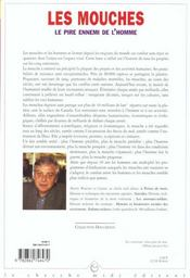 Les Mouches, Le Pire Ennemi De L'Homme - 4ème de couverture - Format classique