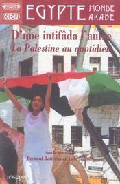 D'une intifada a l'autre (édition 2004) - Intérieur - Format classique