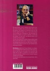 La cuisine des gourmands - 4ème de couverture - Format classique