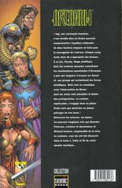 Arcanum T.2 - 4ème de couverture - Format classique