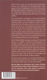 Elan Du Changement (L') - 4ème de couverture - Format classique