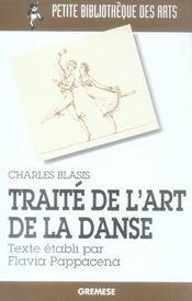 Traité de l'art de la danse - Intérieur - Format classique