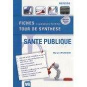 Fiches Tour De Synthese Sante Publique - Couverture - Format classique