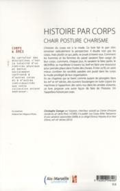Histoire par corps - 4ème de couverture - Format classique