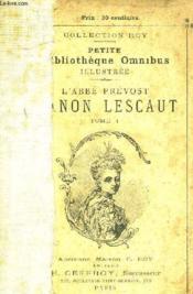 Manon Lescaut - Tome 1. - Couverture - Format classique