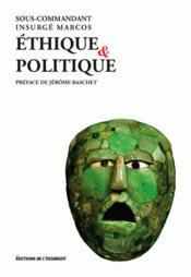 Éthique et politique - Couverture - Format classique