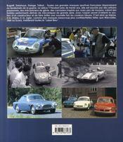 Sportives tricolores, 1950-1970 - 4ème de couverture - Format classique