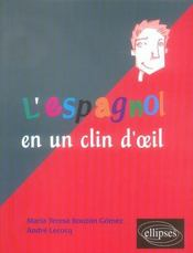 L'espagnol en un clin d'oeil - Intérieur - Format classique