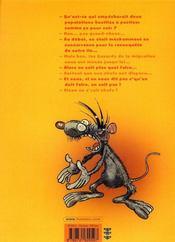 Rat's t.2 - 4ème de couverture - Format classique