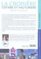 La Croisiere - 4ème de couverture - Format classique