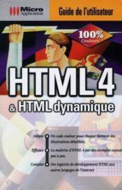 Guide utilisateur html - Couverture - Format classique