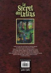 Le secret des lutins - 4ème de couverture - Format classique