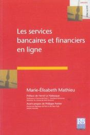 Les services bancaires et financiers en ligne - Intérieur - Format classique
