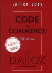 Code de commerce (edition 2012)