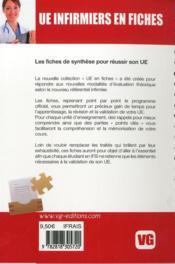 Ue Infirmiers En Fiches Raisonnement Demarche Clinique Infirmiere - 4ème de couverture - Format classique
