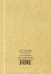 Discours sur la castramétation et discipline militaire des romains - 4ème de couverture - Format classique