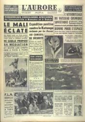 Aurore (L') N°4963 du 22/08/1960 - Couverture - Format classique
