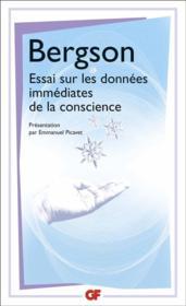 Essai sur les données immédiates de la conscience - Couverture - Format classique