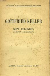 Sept Legendes (Sieben Legenden) - Couverture - Format classique