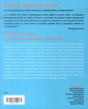 Cahiers D'Anthropologie Sociale T.10 ; L'Image Rituelle - 4ème de couverture - Format classique
