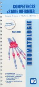 Vente livre :  Competence Stage Et Infirmier Rhumatologie  - P. Adda