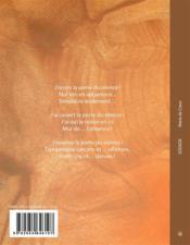Sodade - 4ème de couverture - Format classique