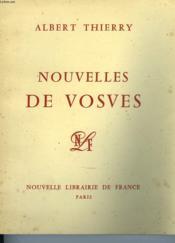 Nouvelles De Vosves - Couverture - Format classique