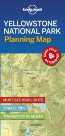 Vente  Yellowstone national park planning map (édition 2019)  - Collectif Lonely Planet