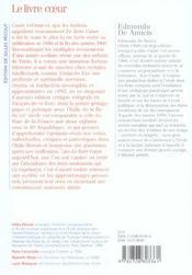 Le livre coeur ; éloge de Franti (2e édition) - 4ème de couverture - Format classique