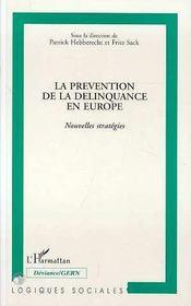 La Prevention De La Delinquance En Europe - Intérieur - Format classique