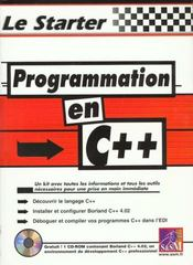 Le Starter Programmation C++ - Intérieur - Format classique