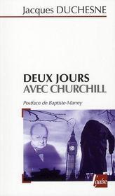 Deux jours avec Churchill - Intérieur - Format classique